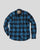 Denver Shirt Men Blue Check