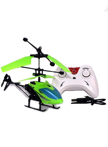 RETAIL PARATPAR Flight Electronic Radio RC Remote Control Hand Sensor Toy Charging Helicopter Toys with 3D Light Toys for Boys Kids Indoor Flying