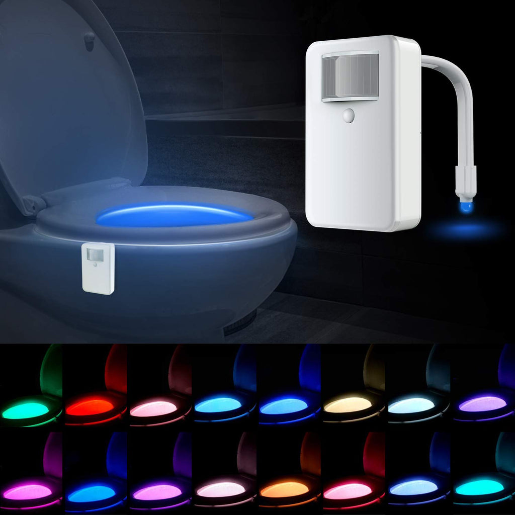 Auto Glow Bathroom Light