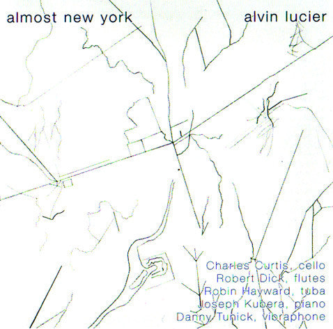 Alvin Lucier // Almost New York 2xCD