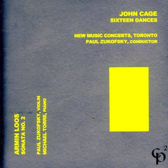 John Cage // 16 Dances; Armin Loos: Sonata No.2 for Violin and Piano CD