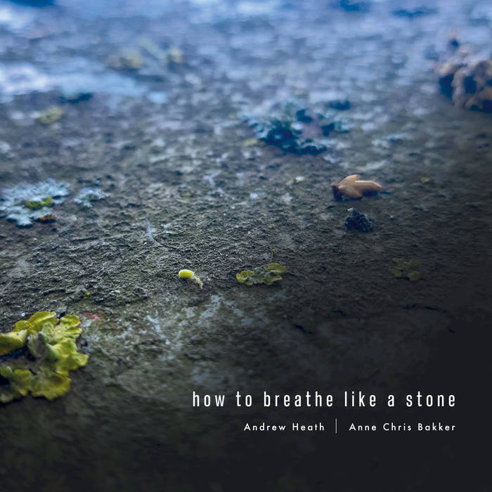 Andrew Heath & Anne Chris Bakker // How To Breathe Like A Stone CDR