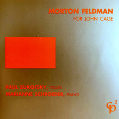 Morton Feldman // For John Cage CD