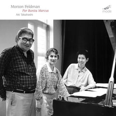Morton Feldman // Feldman Edition 13: For Bunita Marcus CD