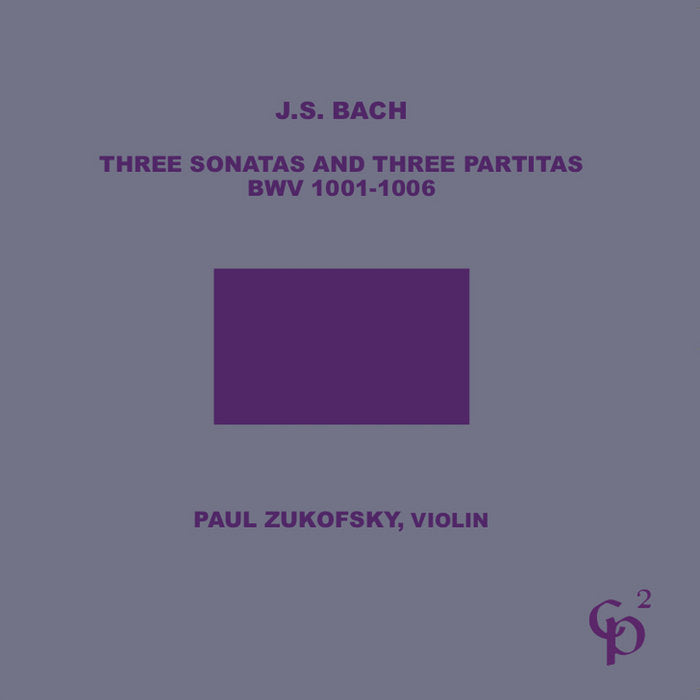 JSBach // 3 Sonatas and 3 Partitas, BWV 1001-1006 2CD