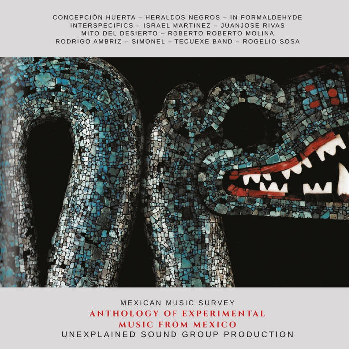 V / A // Anthology Of Experimental Music From Mexico CD
