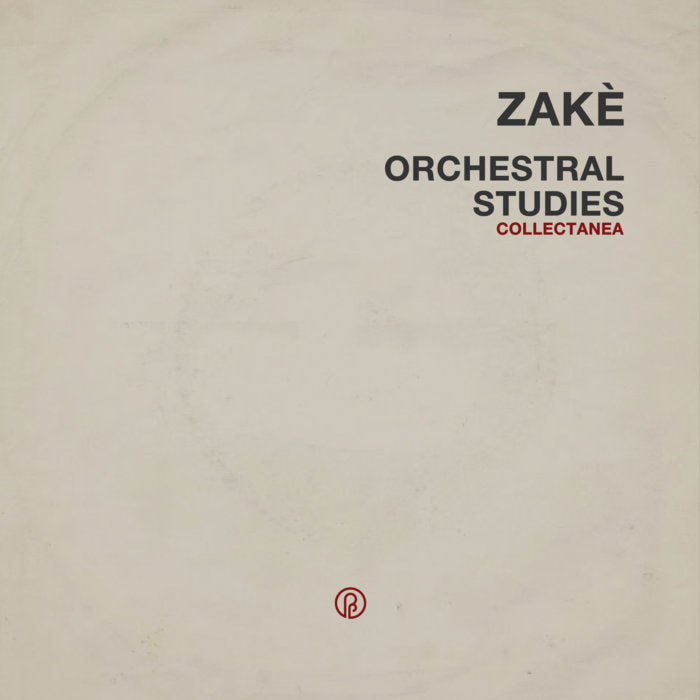 Zakè // Orchestral Studies Collectanea CD