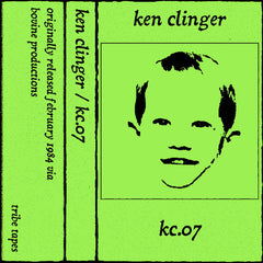 Ken Clinger // KC.07 TAPE