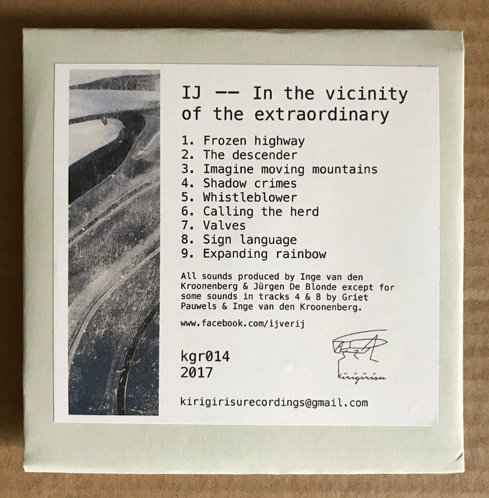 IJ // In The Vicinity Of The Extraordinary CDR