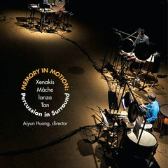Percussion in Surround // Memory in Motion (mode 325) DVD