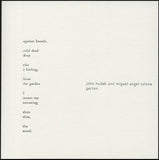 John Hudak and Miguel Angel Tolosa // Garten CD