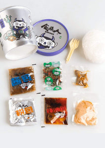 食族人 Snack&Beverage 爆肚粉9桶畅享装 Shizuren Instant Rice Noodle 9 Bags Value Pack _CrazyBee