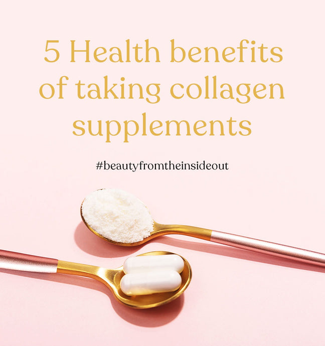 5 Health Benefits of Taking Collagen