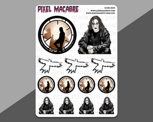The Crow Deco Stickers