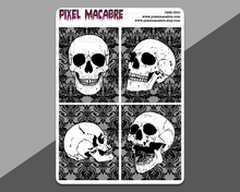 Load image into Gallery viewer, Anatomical Skulls EC Full Box Stickers