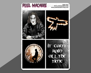 The Crow Deco EC Full Box Stickers