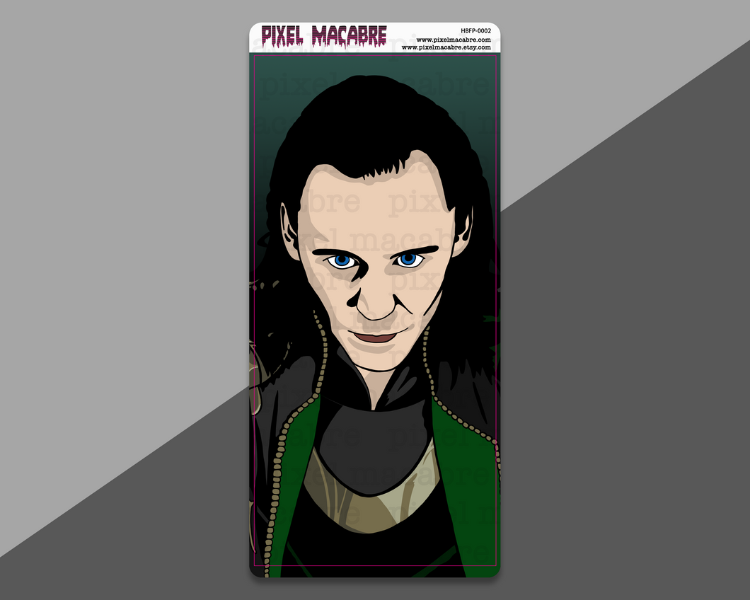 God of Mischief Full Page Hobonichi Sticker