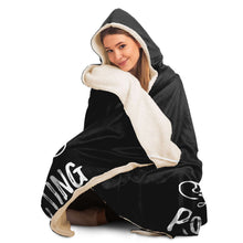 Load image into Gallery viewer, I Am Not Yelling Hooded Blanket