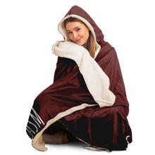 Load image into Gallery viewer, I Speak Fluent Broadway and Sarcasm Hooded Blanket
