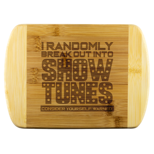 Show Tunes Cutting Board