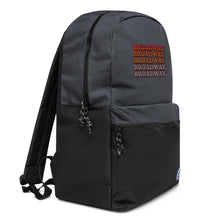 Load image into Gallery viewer, Broadway Retro Vintage Embroidered Champion Backpack