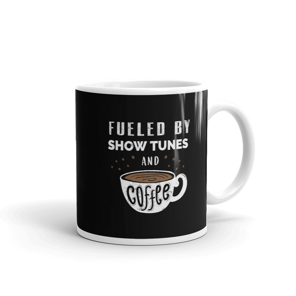 Fueled By Theatre and Coffee 11oz Mug