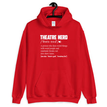 Load image into Gallery viewer, Theatre Nerd Definition Unisex Hoodie