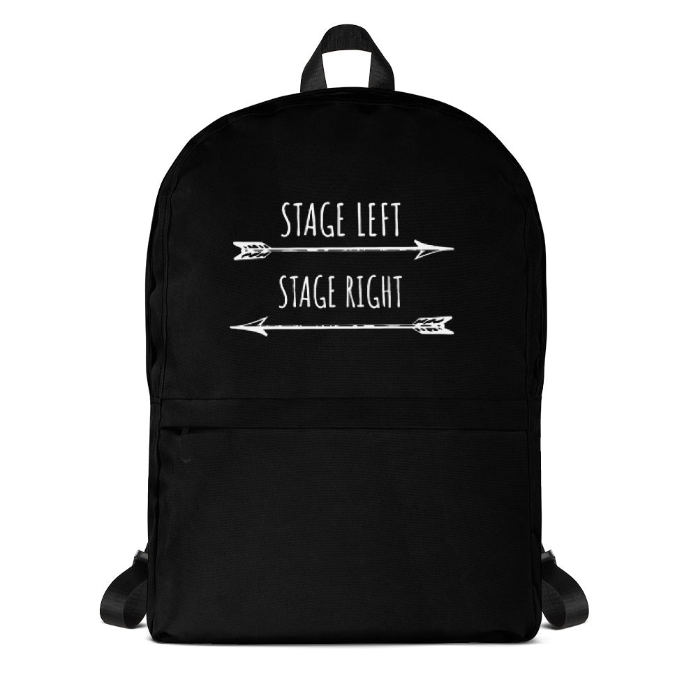 Stage Left Stage Right Backpack