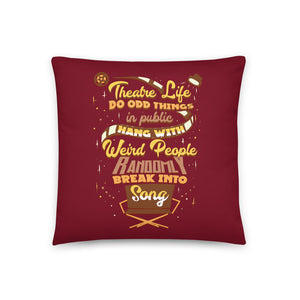 theatre pillow