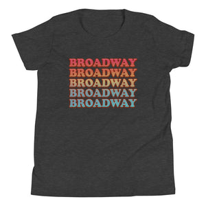 Broadway Retro Vintage Youth T-Shirt