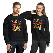 Load image into Gallery viewer, Powered By Theatre And Cats Unisex Sweatshirt