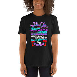Theatre Musical Life Curtains Up Unisex T-Shirt