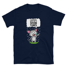 Load image into Gallery viewer, I Randomly Break Out In Show Tunes Cat Unisex T-Shirt