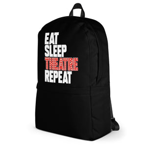 Eat Sleep Theatre Repeat Backpack