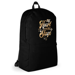 My Heart Is On That Stage Backpack