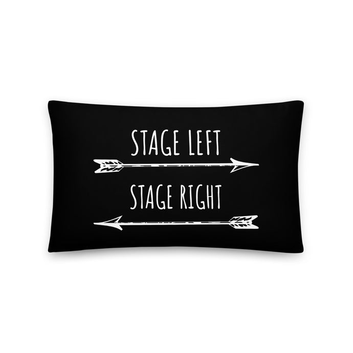 theatre musical thespian pillow