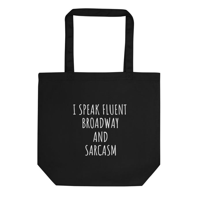 theatre broadway tote bag