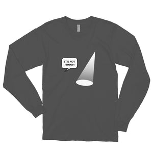 Not Funny Showlight Long sleeve t-shirt