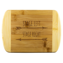 Load image into Gallery viewer, Stage Left Stage Right Cutting Board