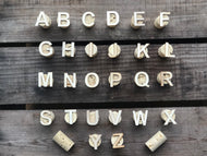 A to Z Cork Stamp Set