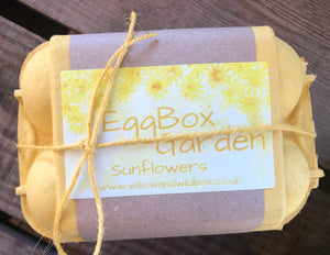 Egg Box Garden - Sunflowers