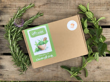 Load image into Gallery viewer, Grow Your Own Windowsill Herbs Kit