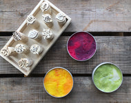 Limited Edition Marbled Playdough - Autumn Colours