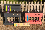 Mud Kitchen - Hand Built