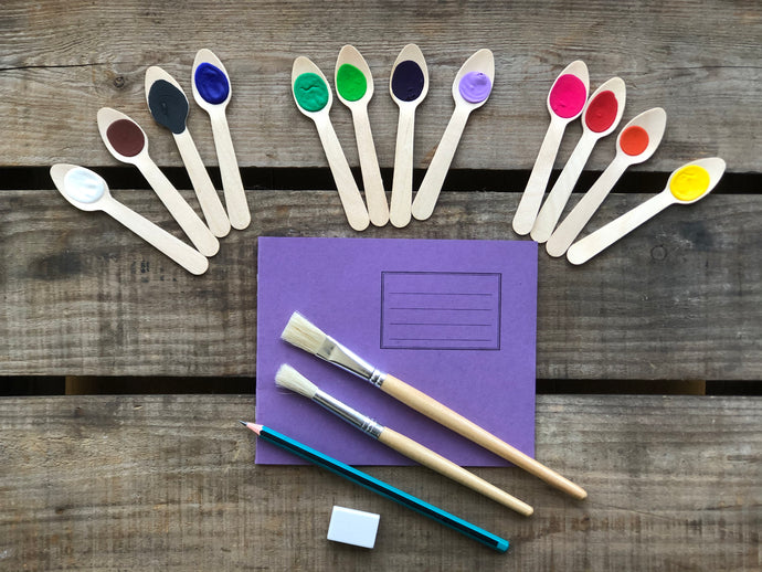 Eco-friendly Paint Spoons Art Kit