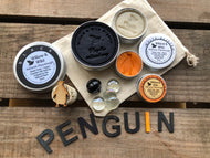 Penguin Sensory Play Dough Set