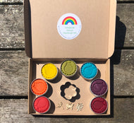 Rainbow Natural Playdough Kit - A donation from your purchase will go to support NHS staff