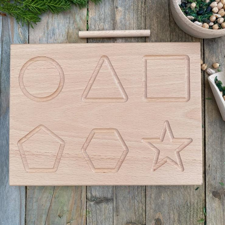 Wooden Shape Board