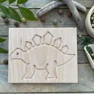 Wooden Dinosaur Tracing Board
