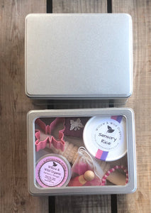 Metal Sensory Play Storage Tin with Accessories